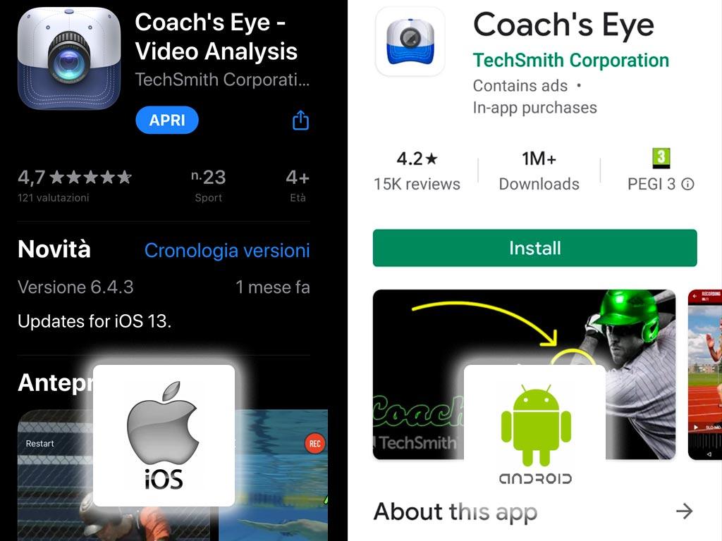 Coach's Eye App
